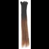 Black / Brown Ombre Dreadlock Extensions