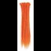 Orange Dreadlock Extensions
