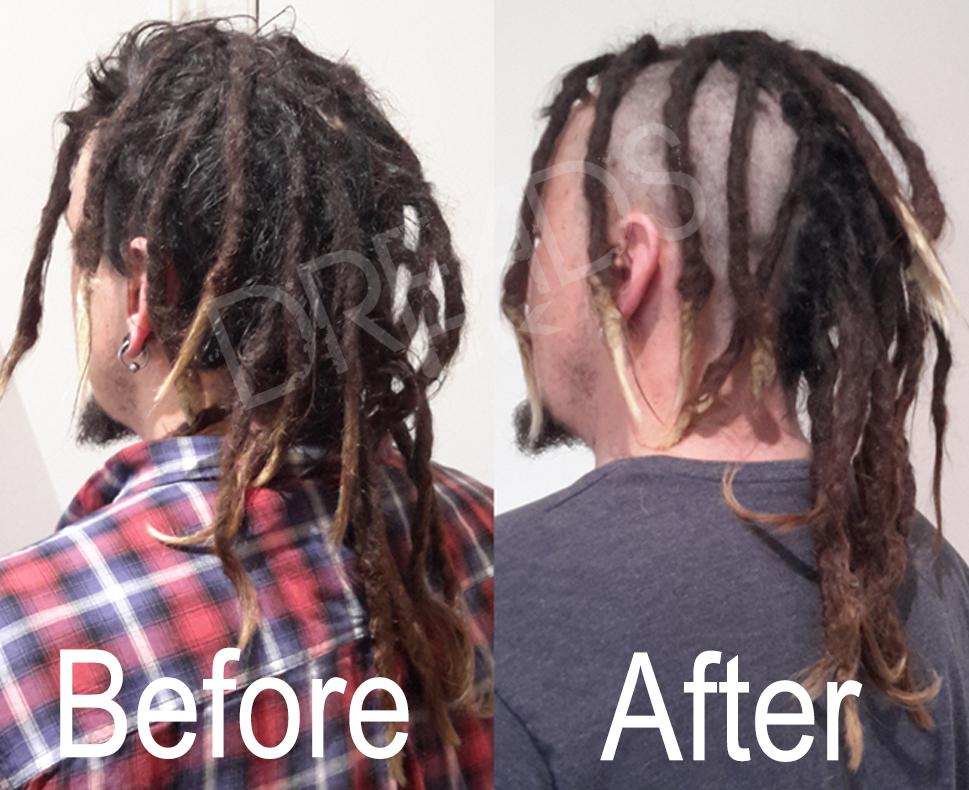 how to turn straight hair into dreadlocks