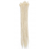 Blonde dreadlock extensions