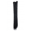 Black Dreadlock Extensions - Length