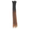 Black / Brown Ombre Dreadlock Extensions