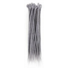 Grey dreadlock Extensions