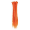 Orange Dreadlock Extensions