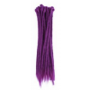 Purple dreadlock extensions