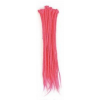 Pink Dreadlock extensions