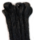 Black Dreadlock Extensions - Loops