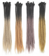 Ombre Dreadlock Extensions