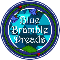 Blue Bramble Dreads