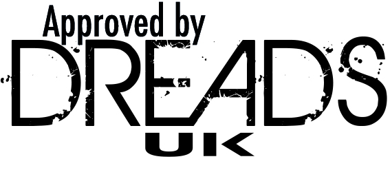 Approved by Dreads UK stamp