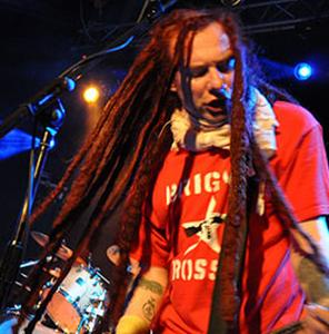 british musician with dreadlocks