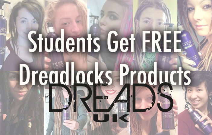 students get free dreadlocks products