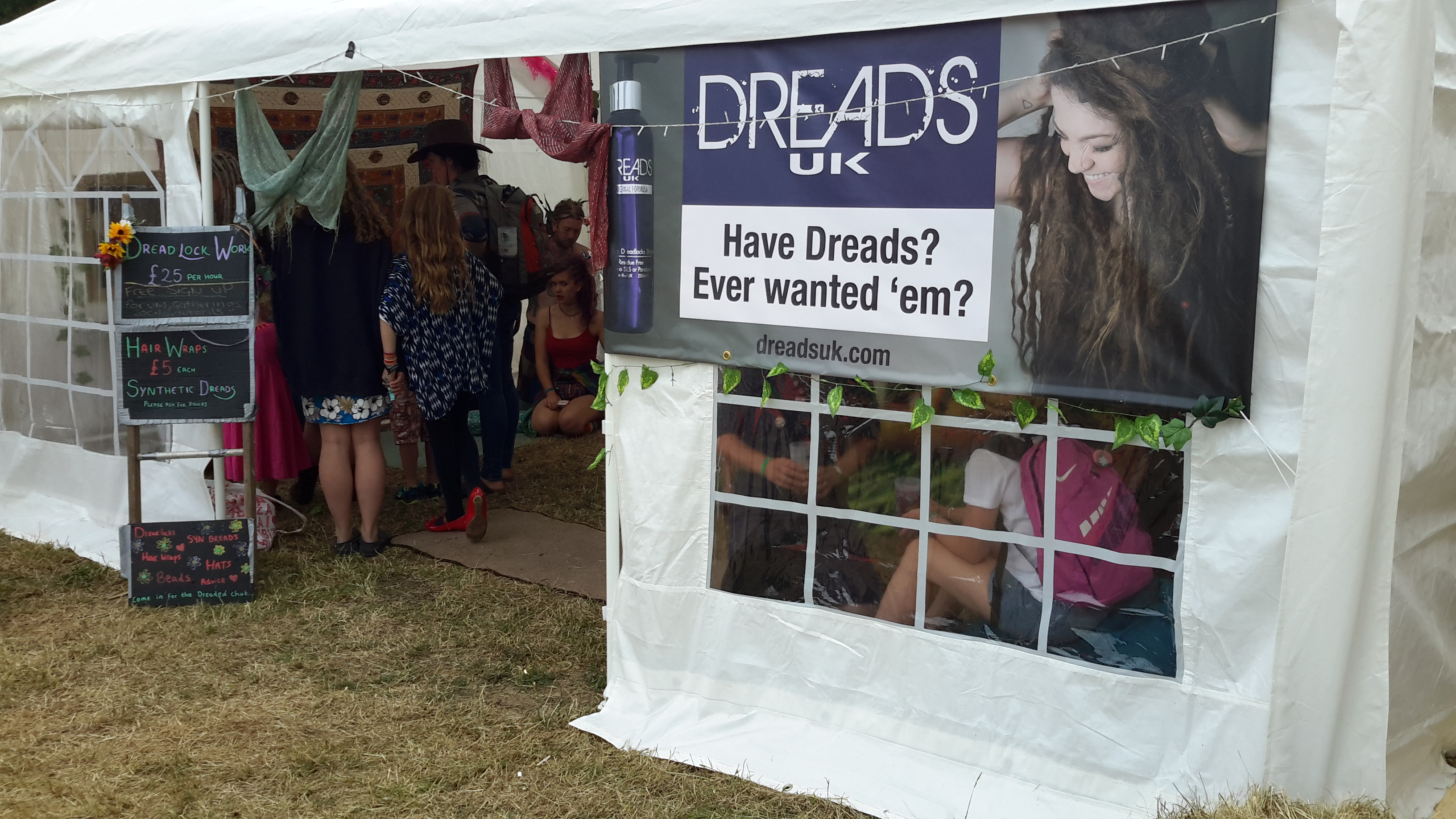 festival dreadlocks