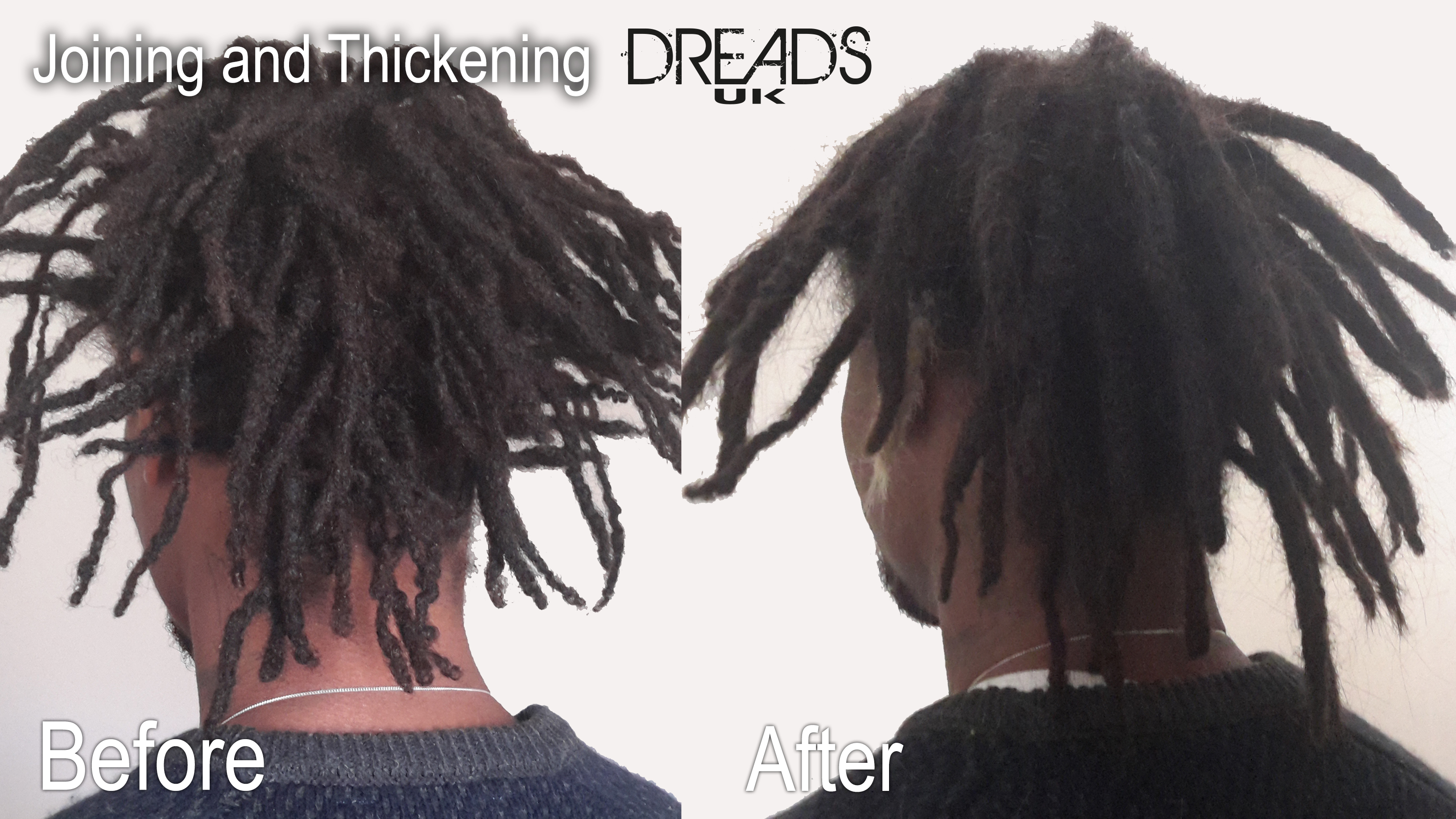 combining dreadlocks into one