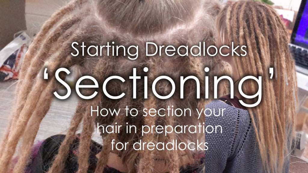 sectioning dreadlocks