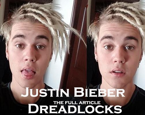 justin bieber dreadlocks